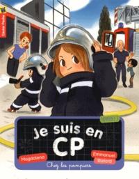 Magdalena et Emmanuel Ristord - Je suis en CP Tome 13 : Chez les pompiers.