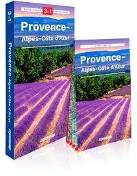 Magdalena Wolak et Piotr Jablonski - Provence-Alpes-Côte d'Azur - Guide + Atlas + Carte laminée 1/300 000.