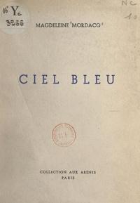 Magdeleine Mordacq - Ciel bleu.