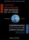 Magdeleine Moureau et Gerald Brace - Dictionnaire des Sciences de la Terre anglais-français et français-anglais.