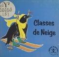 Maggy Larissa et Nans van Leeuwen - Classes de Neige.