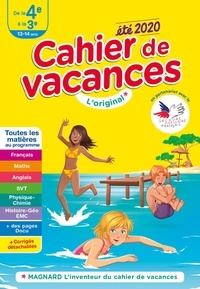 Accentsonline.fr Cahier de vacances été de la 4e à la 3e Image