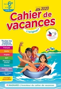 Magnard - Cahier de vacances été de la 6e à la 5e.