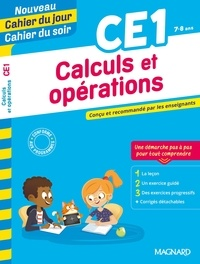 Magnard - Calculs et opérations CE1.