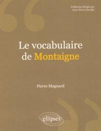 Le vocabulaire de Montaigne.pdf
