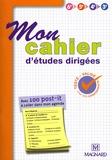 Magnard - Mon cahier d'études dirigées.