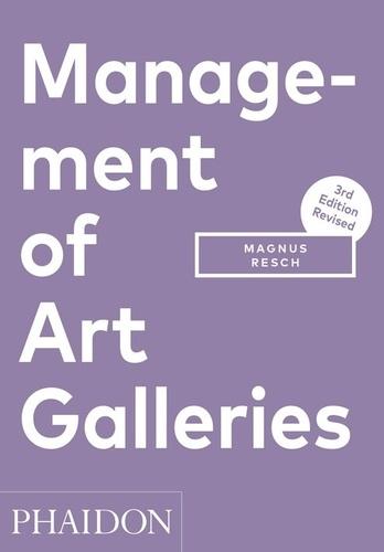 Magnus Resch - Management of Art Galleries.
