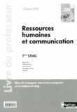 Maguy Péréa - Ressources humaines et communication Tle STMG - Livre du professeur.