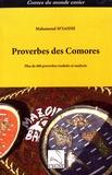 Mahamoud M'Saidie - Proverbes des Comores - Plus de 600 proverbes traduits et analysés.