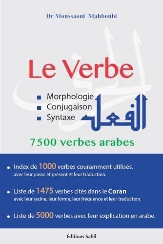 Le Verbe Morphologie Conjugaison Syntaxe Mahboubi Moussaoui Livres Furet Du Nord