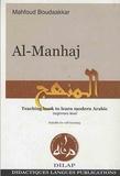 Mahfoud Boudaakkar - Al-Manhaj - Teaching book to learn modern Arabic, beginners level, avec un CD Audio.