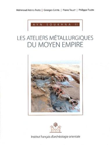 Mahmoud Abd El-Raziq et Georges Castel - Ayn Soukhna - Volume 2, Les ateliers métallurgiques du Moyen Empire. 1 Cédérom