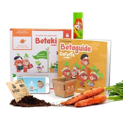 Carotte 2 Botaki | Kit Activité Semis Carotte. Semer des graines de carotte