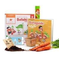 Mahou studi Botaki - Carotte 2 : Botaki   Le kit prêt à semer carotte - Une expérience innovante de jardinage, dédiée aux enfants !.