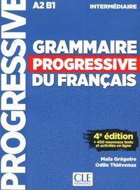 Maïa Grégoire et Odile Thiévenaz - Grammaire progressive du français intermédiaire A2-B1. 1 CD audio