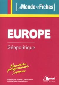 Maie Gérardot et Christelle Pacaud - Géopolitique de l'Europe.