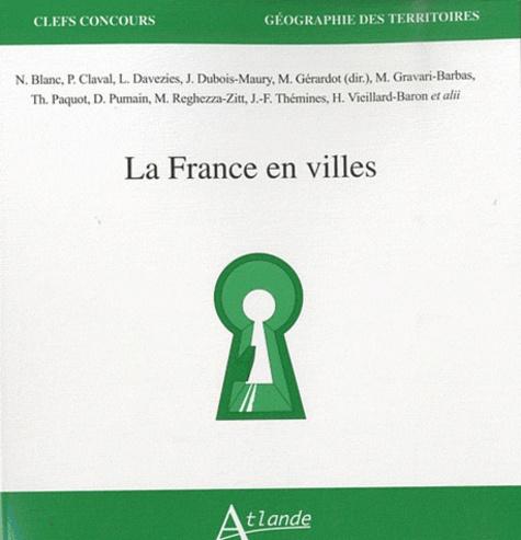 Maie Gérardot - La France en villes.