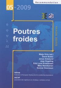 Maija Virta et  Collectif - Guide des Poutres Froides - Guide Rehva.