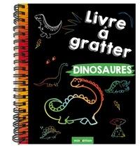 Maike Duddek - Livre à gratter Dinosaures - Avec 1 crayon en bois.