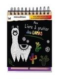 Maike Duddek - Mon livre à gratter des lamas - Avec un crayon en bois.