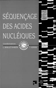 Maillet-Baron - Séquençage des acides nucléiques.