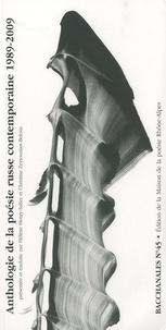 Hélène Henry-Safier et Christine Zeytounian-Beloüs - Bacchanales N° 45, Février 2010 : Anthologie de la poésie russe contemporaine 1989-2009.