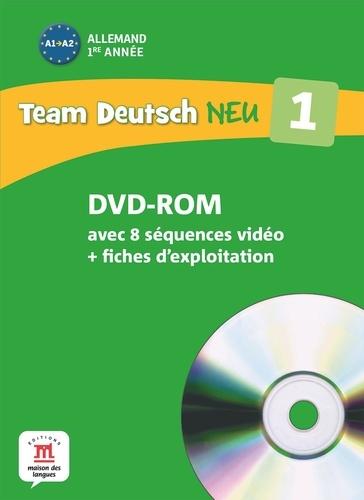 Maison des langues - Allemand 1re année A1-A2 Team Deutsch Neu 1. 1 Cédérom + 1 DVD