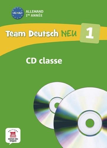 Maison des langues - Allemand 1re année A1 - Pour la classe. 2 CD audio