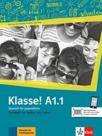 Maison des langues - Klasse! A1.1 - Livre de l'élève. Avec pistes audios.
