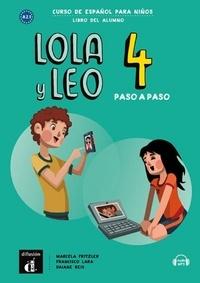 Maison des langues - Lola y Leo paso a paso 4 - Livre de l'élève.