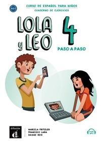 Maison des langues - Lola y Leo paso a paso 4 - Cahier d'activités.