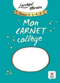 Deedr.fr Mon carnet collège - L'archipel littéraire Image