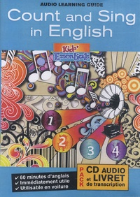 Pam Bourgeois - Count and Sing in English. 1 CD audio