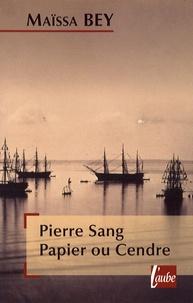 Histoiresdenlire.be Pierre Sang Papier ou Cendre Image