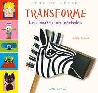 Maïté Balart - Transforme les boîtes de céréales.