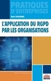 Maïté Guillemain - L'application du RGPD par les organisations.