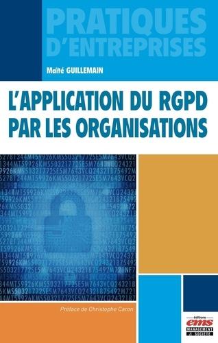 L'application du RGPD par les organisations