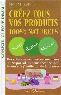 Maïté Molla-Petot - Créez tous vos produits 100 % naturels.