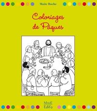 Maïte Roche - Coloriages de Pâques - Des Rameaux à la Pentecôte.