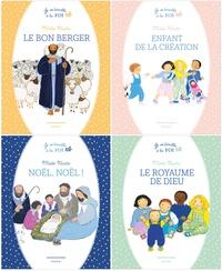 Galabria.be Je m'éveille à la foi - 4 volumes : Enfant de la création ; Noël, Noël! ; Le bon berger ; Le royaume de Dieu Image
