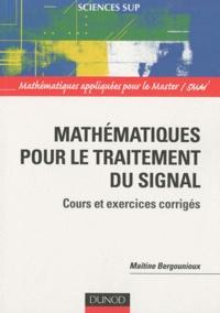 Mathématiques pour le traitement du signal - Cours et exercices corrigés.pdf