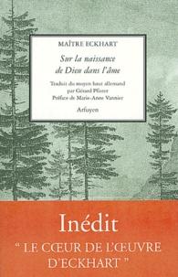 Sur la naissance de Dieu dans l'âme- Sermons 101-104 -  Maître Eckhart pdf epub