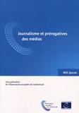 Maja Cappello - Journalisme et prérogatives des médias.