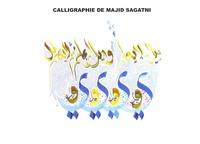 Majid Sagatni - Calligraphie de Majid Sagatni.