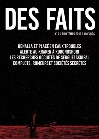 François Burkard - Des faits N° 2, printemps 2019 : .