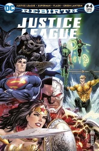 François Hercouët - Justice League Rebirth N° 4, septembre 2017 : .