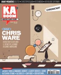 Stéphane Beaujean - Kaboom N° 1, Février-avril  : Chris Ware.
