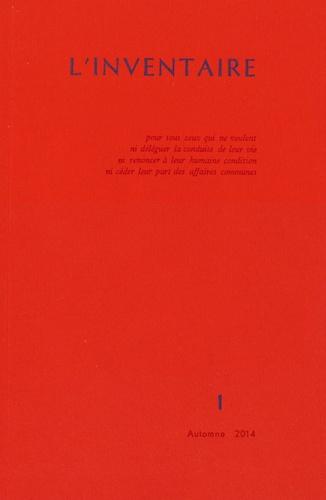 William Morris - L'inventaire N° 1, Automne 2014 : .