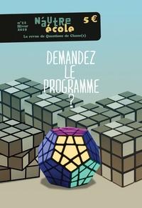 Nicolas Hernoult - N'autre école N° 12, printemps-été : Demandez le programme ?.