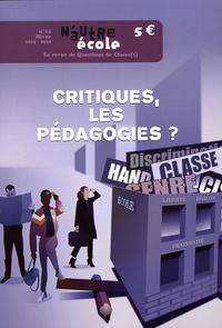Nicolas Hernoult - N'autre école N° 14, hiver 2019-20 : Critiques, les pédagogies?.